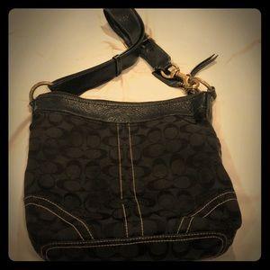 Gently Used Black COACH Shoulder Bag